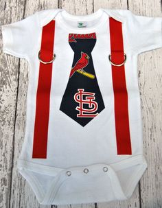 Image result for St. Louis Cardinals baby clothes