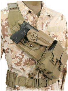 blackhawk strike bandolier - But in all black Tactical Vest, Tactical Clothing, Tactical Survival, Zombie Survival Gear, Tactical Holster, 5.11 Tactical Series, Battle Belt, Gun Holster, Holsters