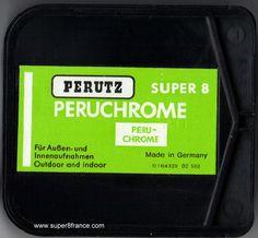 Développement et numérisation de ce chargeur Super 8 Peruchrome peut s'effectuer chez SUPER8FRANCE