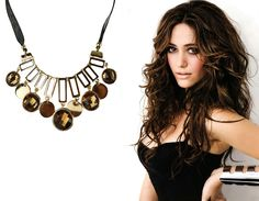 Crystal Clavicle Exaggerated Fashion Accessories Jewelry