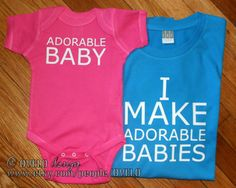 Hey, I found this really awesome Etsy listing at http://www.etsy.com/listing/158711913/mommy-and-me-new-mom-i-make-adorable