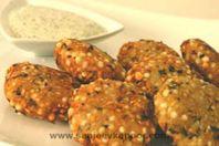Sabudana Vada: Fried dumplings of sago and potatoes great during fast.