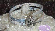 Een mooie #armband met stoffen band en prachtig slot.Wordt op maat gemaakt!De #sieraden op deze site zijn van de Con Amore collectie 2017.Wil je ook mijn eerder gemaakte sieraden bekijken? Ga dan naar http://www.margreet-online.nl