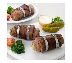 6 kroužků na rolády | magnet-3pagen.cz #magnet3pagen #magnet3pagen_cz #magnet3pagencz #3pagen #kuchyn #vareni Baked Potato, Sausage, Potatoes, Meat, Baking, Ethnic Recipes, Food, Sausages, Potato