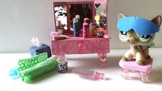 How to Make an LPS Vanity and Toiletries: Doll DIY Accessories