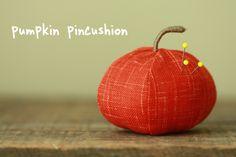 Pumpkin pincushion pumpkin pincushion diy pumpkin crafts halloween halloween crafts diy halloween crafts halloween craft ideas halloween pictures halloween ideas halloween images pumpkin crafts