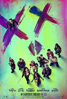 Los actores de Escuadrón Suicida en el nuevo póster