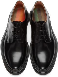 Paul Smith: Black Wapping Derbys | SSENSE