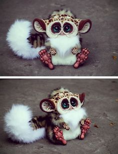 "Unbelievably adorable art doll ""T.G. Jaguar"" by *Santani on deviantART (SO CUTE.)"