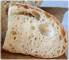 Neapolitan Peasant Bread INSIDE  Profumo di Lievito: pane cafone napoletano