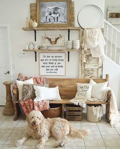 Natalie @vintageporch has done it again!!! I absolutely fall in love with every space she creates in her home! The neutral farmhouse, boho vibe is my jam