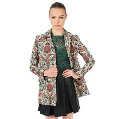 Tommie Coat Multi, $165, now featured on Fab.
