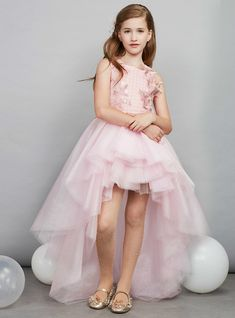 Possibly the most lovely looking for newborn baby date clothing, find most of the necessities like pajamas, entire body matches, bibs, and even more. Pink Dresses For Kids, Cute Little Girl Dresses, Flower Girl Dresses, Toddler Girl Outfits, Kids Outfits, Dinner Gowns, Dress Anak, Moda Kids, Baby Dress Design