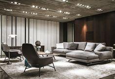 Fisher island by associated design co modern livingroom
