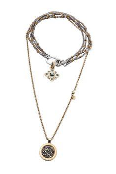 Festive adornment! Dyrberg/Kern, swarofski stoned neckwear
