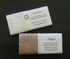 We Specialise In Wedding Bonbonniere Favours Stationery Check Our Personalised Invitations Chocolate Bars Gifts More