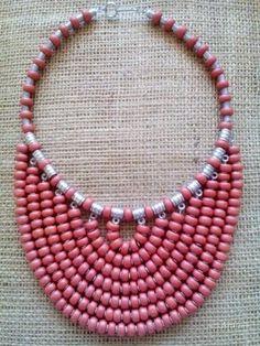 Diy Jewelry Necklace, Bead Jewellery, Hair Jewelry, Necklace Designs, Jewelry Crafts, Beaded Jewelry, Jewelery, Fashion Jewelry, Women Jewelry