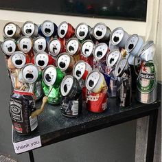 The aluminum can choir. Funny Video Memes, Stupid Funny Memes, Funny Relatable Memes, Hilarious, Memes Humor, Funny Images, Funny Photos, Chor, Wholesome Memes