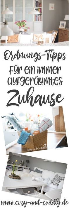 Besser aufgeräumt: 10 Ordnungstipps – damit Dein Zuhause immer ordentlich ist With my ten order tips, your home is always perfectly tidied up. Simple tricks and organizational tips for all corners of your apartment. House Cleaning Tips, Cleaning Hacks, Life Hacks, Diy Décoration, Tidy Up, Diy Organization, Organisation Hacks, Clean Up, Declutter