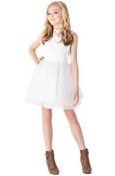 MISS BEHAVE 'Emily' Dress (Big Girls) available at #Nordstrom