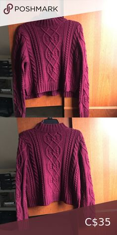 Mock neck American eagle sweater In excellent preowned condition  Lovely deep burgundy/plum colour  Message me if you have any questions!! Always open to offers!! American Eagle Outfitters Sweaters Cowl & Turtlenecks Plum Colour, Deep Burgundy, American Eagle Sweater, Plus Fashion, Fashion Tips, Fashion Trends, Turtlenecks, Mock Neck, Cowl