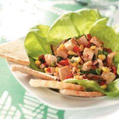 Southwest Chicken Salad Recipe from Taste of Home