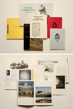 Diseños de fanzines de Eva Kasáková