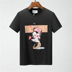 Wholesale Round Collar Short Sleeve Casual T Shirts Gucci T Shirt Mens, Cl Shoes, Designer High Heels, Casual T Shirts, Round Collar, Short Sleeves, Mens Fashion, Mens Tops, Moda Masculina