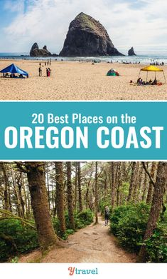 An Oregon coast road trip is a highlight when visiting the Pacific Northwest region of the USA. Here are 20 highlights of an Oregon road trip not to miss! #Oregon #roadtrips #travel #familytravel