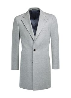 Light Grey Overcoat J451 | Suitsupply Online Store