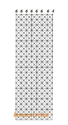 Las Labores y Manualidades de Caterine: Encaje de bolillos: como hacer el punto antena