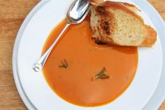 Rosemary Butternut Bisque - Soup