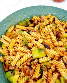 Schezwan Pasta‼️‼️  #tossncook #pasta Quick Recipes, Pasta Recipes, Schezwan Sauce, Main Dishes, Side Dishes, Red Sauce, Fusilli, Cooking Ingredients, Creamy Sauce