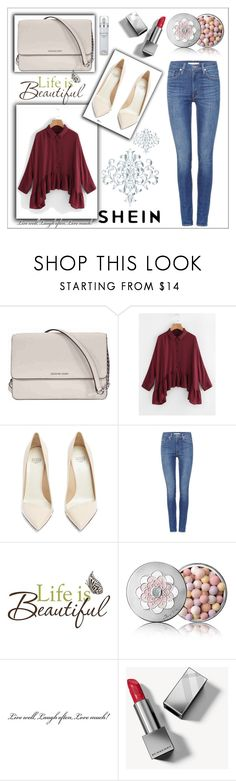 """""""life is beautiful <3"""" by ela9-1 ❤ liked on Polyvore featuring Michael Kors, Francesco Russo, Levi's, Brewster Home Fashions, Guerlain, Burberry and Kenneth Cole"""
