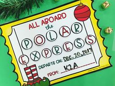 Looking for a fun behavior incentive this loooong December? Or is it just me that's dying over here...? 🙈 This Polar Express Behavior Ticket was just dropped off by our elf, Jingle. Each day we will earn a letter in POLAR EXPRESS so we can board the train (aka have a Polar Express Party)! Hopefully this will work because who doesn't love a day full of pajamas, hot chocolate, and popcorn while watching The Polar Express?! If you are in need of an incentive like this, snag it in my store for…