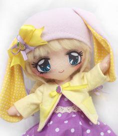 Minadori Art Filc Felt Feltro: Filcowa lalka Lili/ Felt doll Lili