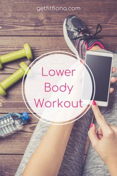 Lower Body Workout Toning Workouts, At Home Workouts, Fitness Tips, Fitness Motivation, Dumbbell Squat, Workout For Beginners, Easy Weight Loss, Glutes, Body Weight