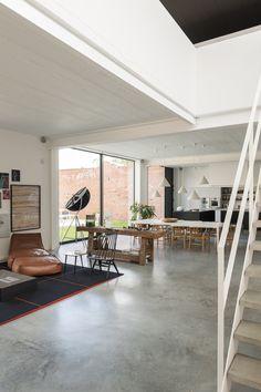Nylonfabriek loft totaalproject   Kove Interieurarchitecten Sint-Niklaas