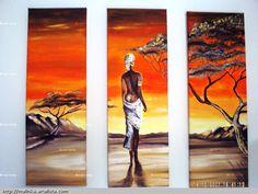 This Pin was discovered by MOM African American Artwork, African Art Paintings, Africa Art, Aboriginal Art, Mural Art, Acrylic Art, Beautiful Paintings, Black Art, Female Art