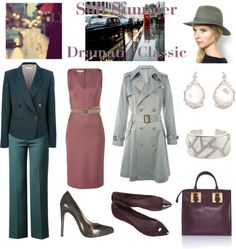 """Soft Summer Dramatic Classic"" by thewildpapillon ❤ liked on Polyvore"