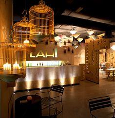 Virlova Interiorismo: [Places] Lah!: interiorismo de un restaurante oriental
