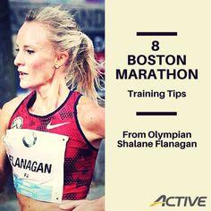 8 Boston Marathon Training Tips From Olympian Shalane Flanagan Running Guide, Running Workouts, Running Training, Running Hacks, Training Schedule, Training Equipment, First Marathon, Half Marathon Training, Marathon Running