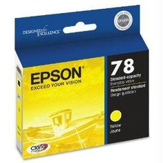 Epson R260-r360-rx580 Standard Cap Yellowyellow Ink Cartridge For Artisan 50 Printer