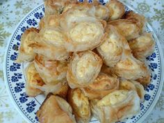 Cooking & Art by Marion: Ρολό τυρόπιτας / Cheese pie roll Cheese Pies, Party Buffet, Shrimp, Rolls, Birthday Parties, Meat, Cooking, Party Ideas, Food