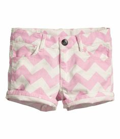 Pink shorts, can also be dressed up for dinner
