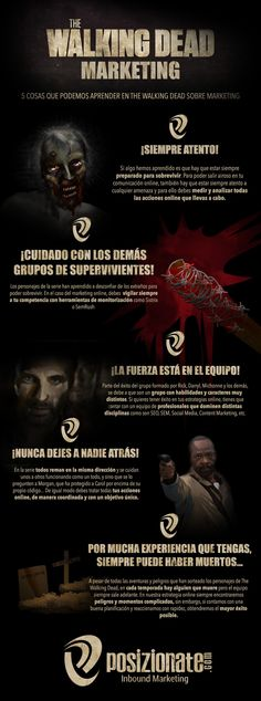 The Walking Dead Marketing #infografia