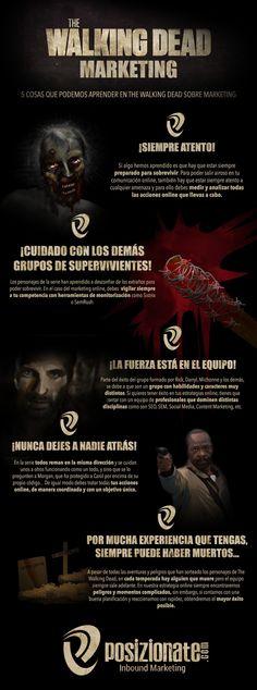 The Walking Dead Marketing #infografia