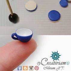 Diy Clay, Clay Crafts, Diy And Crafts, Arts And Crafts, Miniature Crafts, Miniature Houses, Dollhouse Tutorials, Cute Easy Drawings, Clay Ornaments