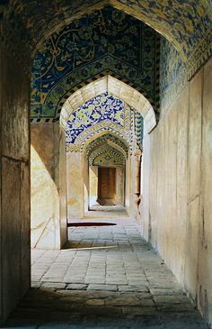 Afternoon at shah mosque by Mo Tabesh on Flickr.