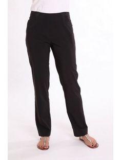 Birdee Sport of Australia Techno Super Lightweight Slide On Long Pants-Black or Taupe  #basicpants #golfpants #birdeesport #golfapparel #activepants #blackpants #basicpants #ladiesproshop